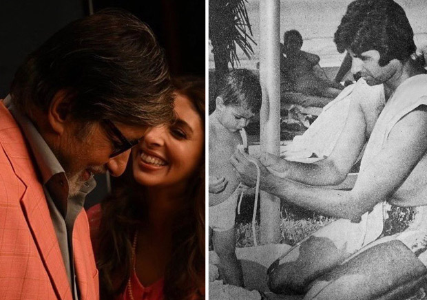 Shweta Bachchan comments on this throwback photo shared by her father Amitabh Bachchan and here's what she has to say!