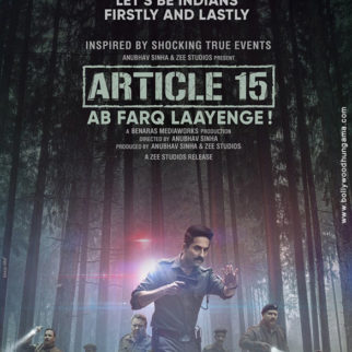 First Look Of Article 15