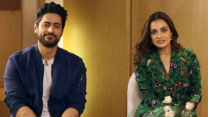 Dia Mirza & Mohit Raina On Kaafir Divisive World Spreading Hatred Experience in Kashmir Politics