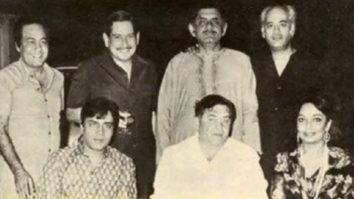 FLASHBACK FRIDAY: Karan Johar shares a rare photo of father Yash Johar with Raj Kapoor, Sadhana, Rajendra Kumar and others