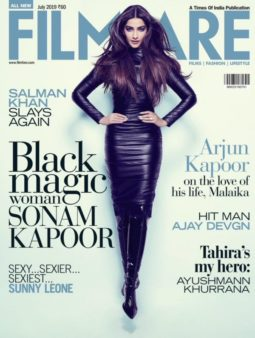 Sonam Kapoor Ahuja On The Covers Of Filmfare