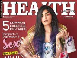 Diana Penty On The Covers Of Health & Nutrition