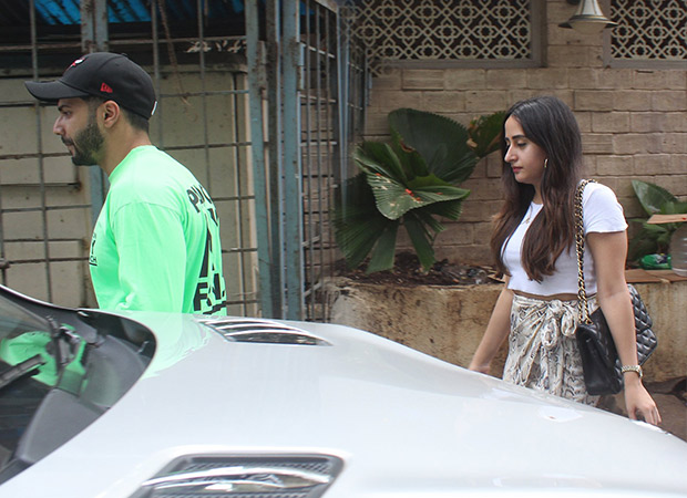 WATCH: Varun Dhawan sneaks out on a lunch date with Natasha Dalal!
