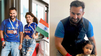 IND vs PAK: Saif Ali Khan cheers for Team India with Jawaani Jaaneman co-star Alaia Furniturewala, meets MS Dhoni's daughter Ziva Dhoni