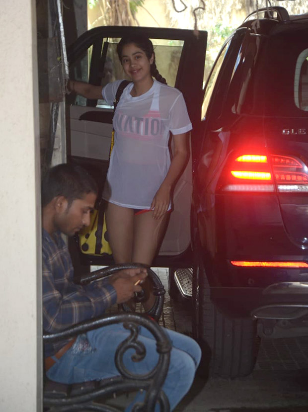 PHOTOS: Post Katrina Kaif's comments, here are some pictures of Janhvi Kapoor in her 'very, very short shorts'