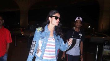 Kareena Kapoor Khan SPOTTED leaving for London at Mumbai Airport