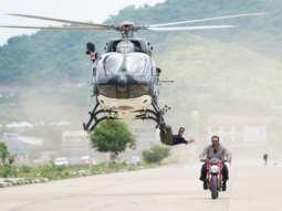 LEAKED PHOTOS & VIDEO: Akshay Kumar performs DEADLY helicopter stunt for Sooryavanshi in Bangkok