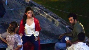 LEAKED PHOTOS & VIDEO: Alia Bhatt and Ranbir Kapoor take a boat ride while shooting in Varanasi for Brahmastra