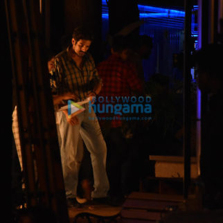 on the sets of the movie Love Aaj Kal 2