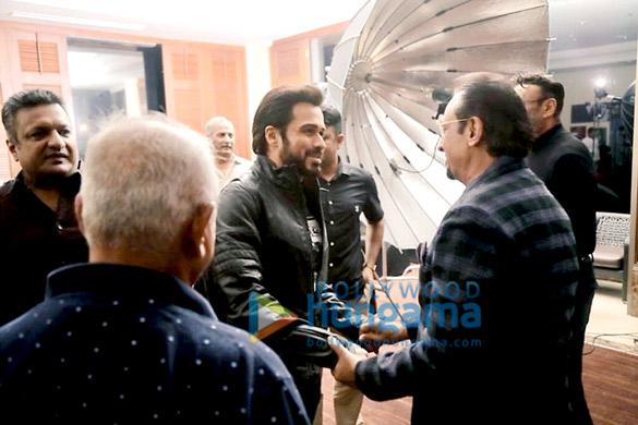 On The Sets Of The Movie Mumbai Saga