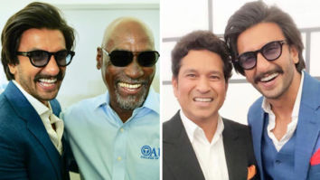 PHOTOS: '83 star Ranveer Singh spends quality time with Sir Vivian Richards, Sachin Tendulkar, Sunil Gavaskar and Sharne Warne