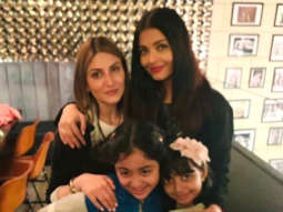 PHOTOS: Aishwarya Rai Bachchan, Abhishek Bachchan, Aaradhya Bachchan spend quality time with Ranbir Kapoor's sister Riddhima Kapoor Sahni and family in New York