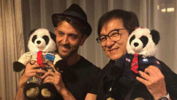 PHOTOS: Hrithik Roshan shares his incredible experience after meeting Jackie Chan in China