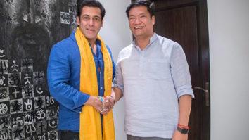 PHOTOS: Salman Khan meets Pema Khandu, Chief Minister of Arunachal Pradesh