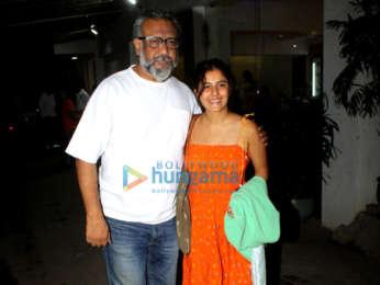 Photos: Anubhav Sinha and Isha Talwar grace the special screening of 'Article 15'
