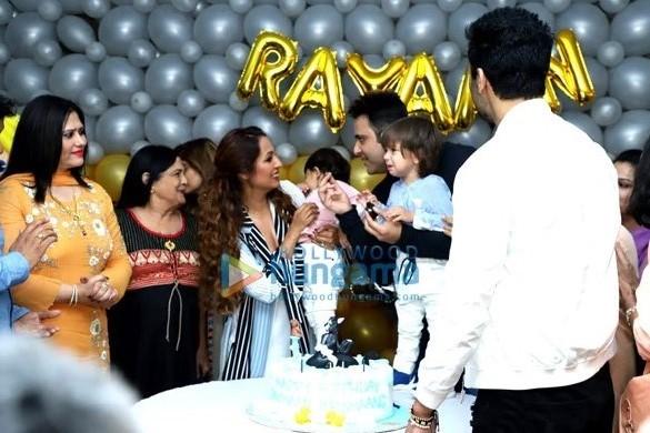 Photos: Celebs grace Krishna Abhishek's son's birthday party