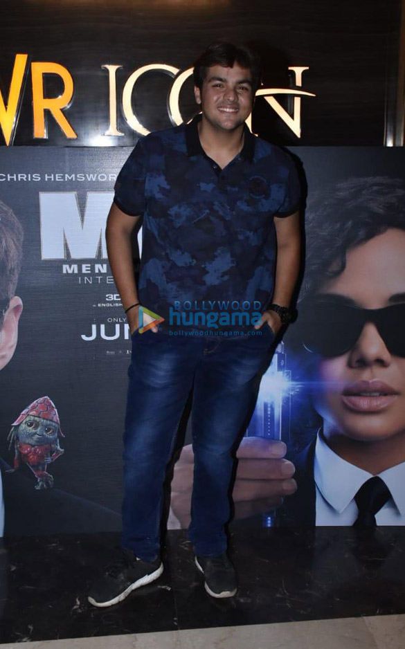 Photos Celebs snapped at the special screening of Men in Black – International (5)