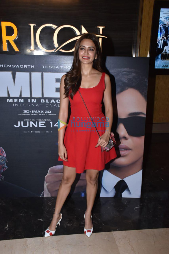 Photos Celebs snapped at the special screening of Men in Black – International (7)