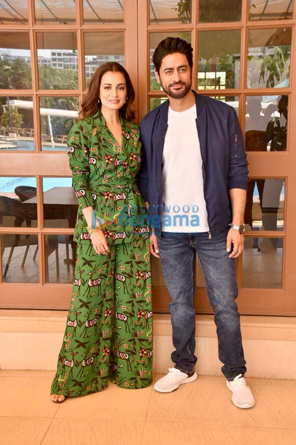 Photos Dia Mirza and Mohit Raina snapped promoting their web series Kaafir (6)