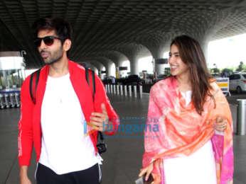 Photos: Katrina Kaif, Kareena Kapoor Khan, Sara Ali Khan and Kartik Aaryan snapped at the airport