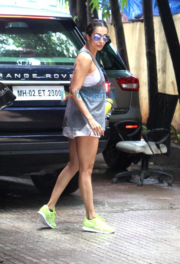 Photos: Malaika Arora snapped at the gym