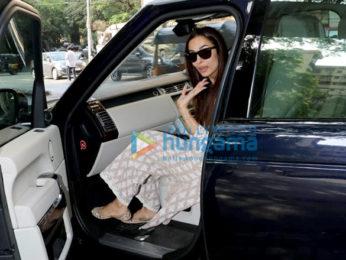Photos: Malaika Arora spotted at Muah salon in Bandra