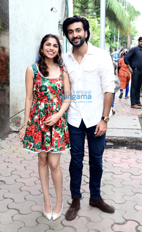 Photos: Meezaan Jaffrey and Sharmin Segal snapped during Malaal promotions