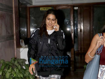 Photos: Sara Ali Khan snapped at Excel office