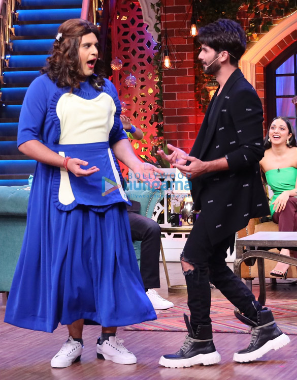 Photos Shahid Kapoor and Kiara Advani promote Kabir Singh on The Kapil Sharma Show (3)