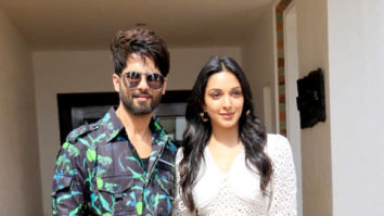 Photos: Shahid Kapoor and Kiara Advani snapped promoting their film Kabir Singh