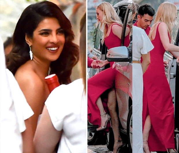 Priyanka Chopra shines in white as she attends the rehearsal dinner of Sophie Turner and Joe Jonas [See photos]