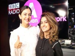 Rakul Preet Singh is all smiles as she visits the BBC Radio Asia Network in London!