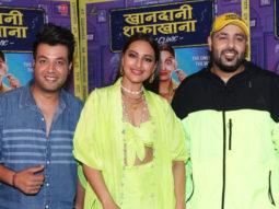 Sonakshi Sinha, Badshah and Varun Sharma spotted promoting their upcoming film Khandani Safakhana