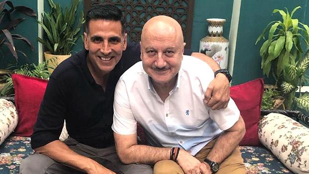 Sooryavanshi: Akshay Kumar receives a pleasant surprise after Anupam Kher arrives on the sets on a scooter in Bangkok