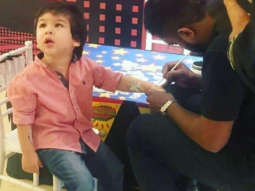 Taimur Ali Khan getting a tattoo at AbRam Khan's birthday is ohh-so-cute and we can't stop adoring this little one!