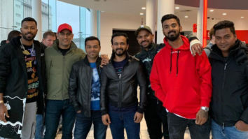 Team India enjoys Bharat in England, Salman Khan send wishes for World Cup 2019