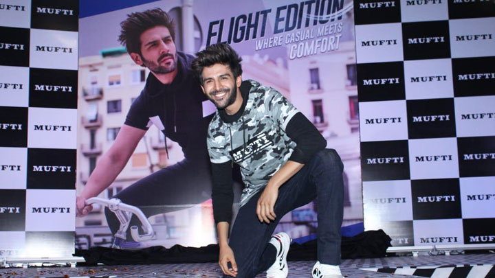 UNCUT Kartik Aaryan spotted at 'Mufti' collection launch