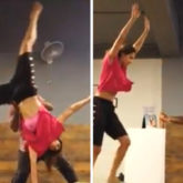 WATCH VIDEO: Disha Patani gives a glimpse of a perfect cartwheel from her training session