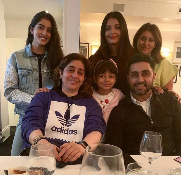 Navya Nanda Naveli enjoys this perfect FAMJAM moment with Abhishek Bachchan, Aishwarya Rai Bachchan and Aaradhya in New York!