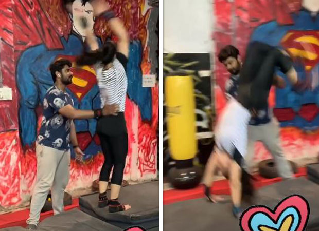 Kirik Party actress Rashmika Mandanna showcases her flexible moves in this video and it is going VIRAL!