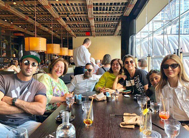 Ranbir Kapoor spends time with family; sister Riddhima Kapoor Sahni shares photos from their family outing