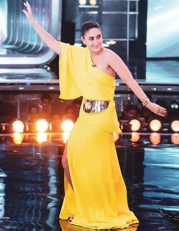 PHOTOS: Kareena Kapoor Khan grooves to 'MAUJA HI MAUJA' from Jab We Met on the sets of Dance India Dance; makes everyone dance to it!