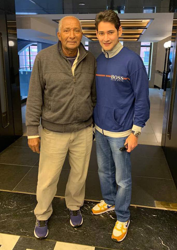 Fanboy moment alert! Maharshi actor Mahesh Babu shares a picture with this cricket legend!