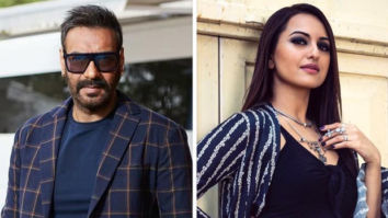 Ajay Devgn and Sonakshi Sinha shot for the climax song of Bhuj The Pride Of India with 300 dancers!