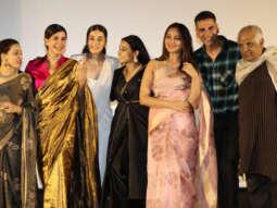 Akshay Kumar, Vidya Balan, Taapsee Pannu and Nithya Menon grace the trailer launch of their film Mission Mangal Part 3