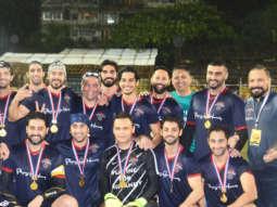 Bollywood Team vs Navy Stars-Football Match Highlights Ranbir KapoorArjun KapoorAbhishek BAparshakti K