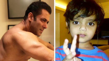 CUTENESS OVERLOAD Salman Khan recreates the 'bean-bag moment' with nephews Ahil and Yohan