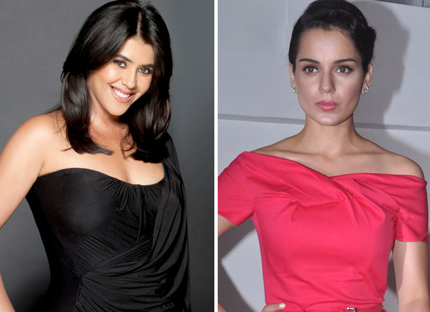 Ekta Kapoor's Balaji caught in a dilemma over Kangana Ranaut's media spat