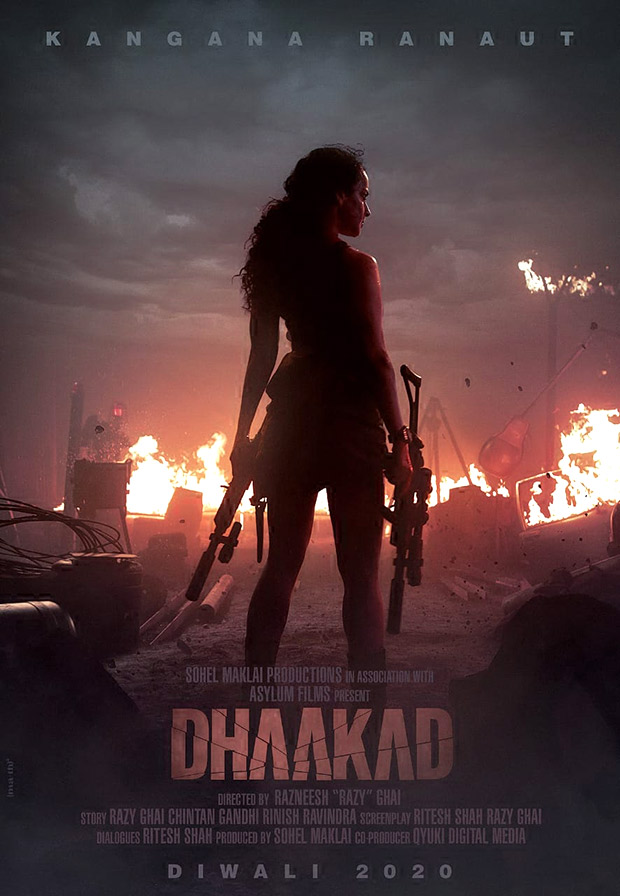 FIRST LOOK: Kangana Ranaut looks badass in her next action entertainer Dhaakad