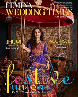 Bhumi Pednekar on the cover of Femina, Aug 2019